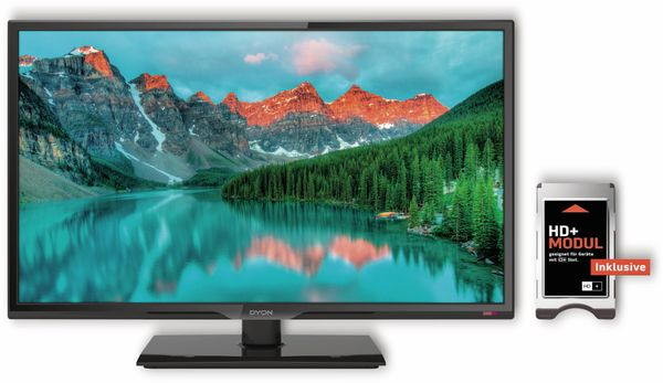 "LED-TV DYON Live 24C, 23,6"" (60 cm), Full HD, EEK: A, inkl. HD+ - Produktbild 2"