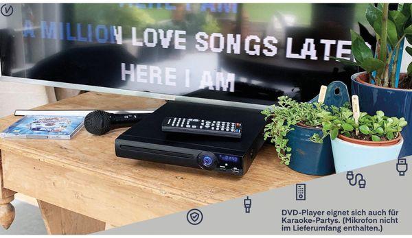 DVD-Player UNIVERSUM DVD 300-20, schwarz - Produktbild 5