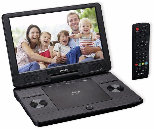 "Portabler Bluray-DVD-Player LENCO, BRP-1150BK, 11,5"""