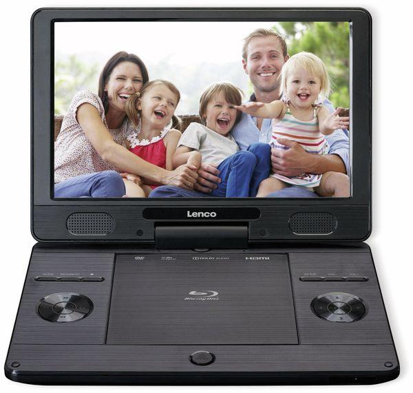 """Portabler Bluray-DVD-Player LENCO, BRP-1150BK, 11,5"""" - Produktbild 2"""