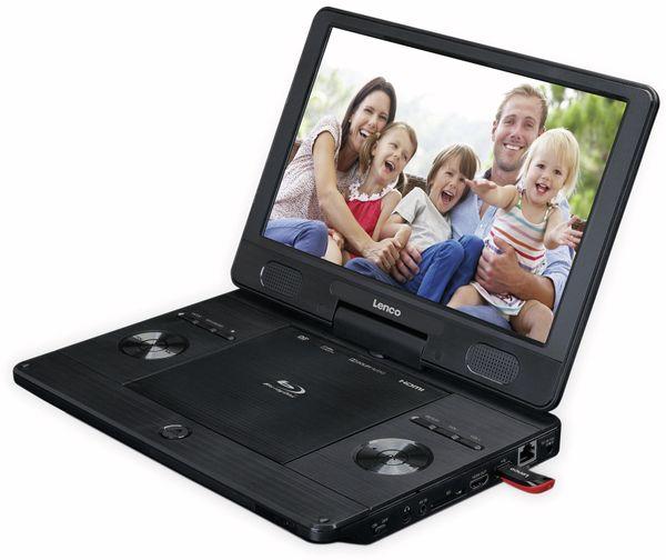 """Portabler Bluray-DVD-Player LENCO, BRP-1150BK, 11,5"""" - Produktbild 3"""