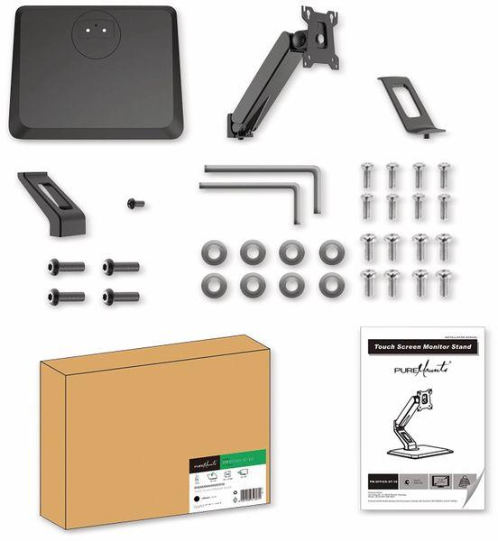Monitorhalterung PUREMOUNTS PM-OFFICE-ST-10, VESA 100x100 mm - Produktbild 5