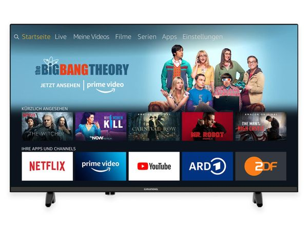 "LED-TV GRUNDIG 40 GFB 6070 Fire TV, 40"" (102 cm), FullHD, EEK: A"