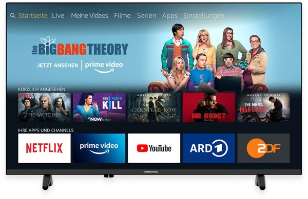 "LED-TV GRUNDIG 40 GFB 6070 Fire TV, 40"" (102 cm), FullHD, EEK: F"
