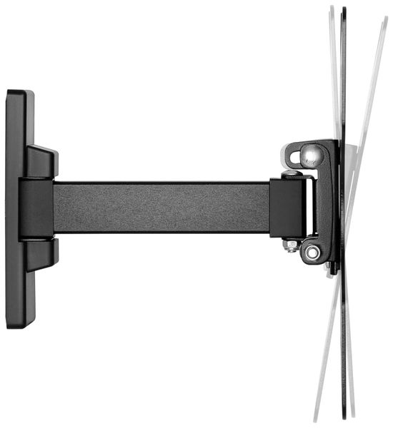 "TV-Wandhalter GOOBAY Basic Fullmotion S1, Single Arm, 23...42"" (58...107 cm) - Produktbild 5"