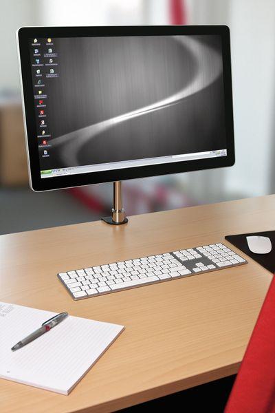 "Monitorhalterung GOOBAY Basic M Single, 13...32"" (33...81 cm) - Produktbild 5"
