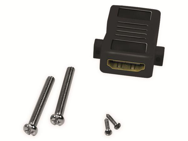 HDMI-Wanddose LOGILINK, 1-Port, weiß - Produktbild 5