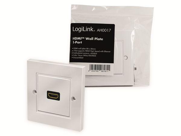 HDMI-Wanddose LOGILINK, 1-Port, weiß - Produktbild 7