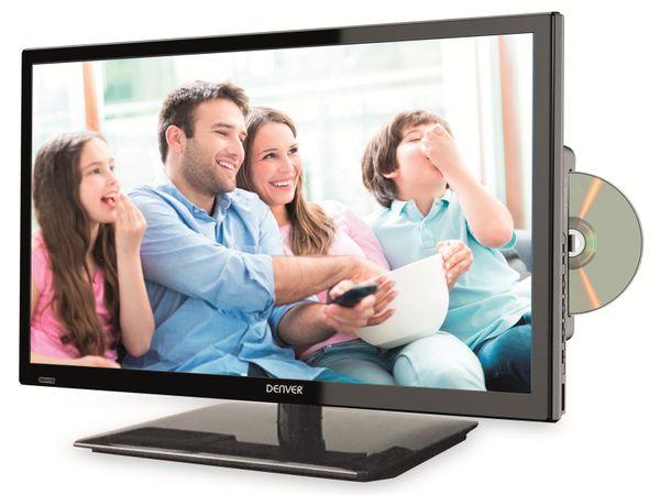 """LED-TV DENVER LDD-2468, 23,8"""" (60 cm) EEK A, DVD-Player"""