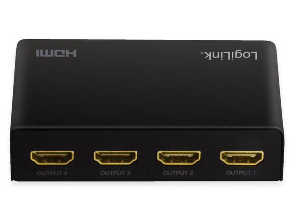 HDMI-Splitter LOGILINK HD0038, 1x4-Port, 4K/60 Hz, Downscaler, EDID - Produktbild 7