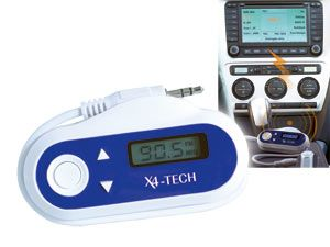UKW-Funkübertragungs-Set X4-TECH X-Mitter