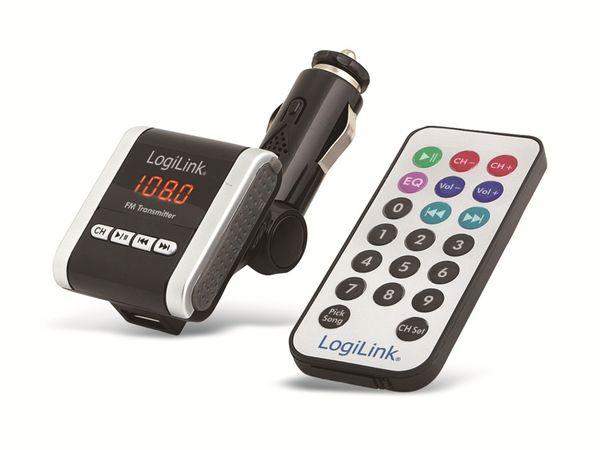 FM-Funksender mit MP3-Wiedergabe LOGILINK FM0001A - Produktbild 1