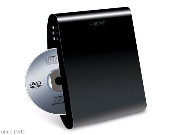 DVD-Player DENVER DWM-100USB, schwarz