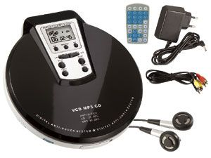 Mobiler Multimedia-Player VCD/MP-110
