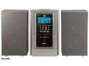Stereoanlage MCD-042P, silber