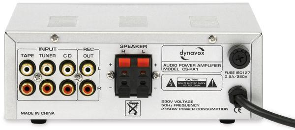 Mini-HiFi-Verstärker DYNAVOX CS-PA1, silber - Produktbild 2