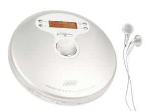 Tragbarer CD/MP3-Player