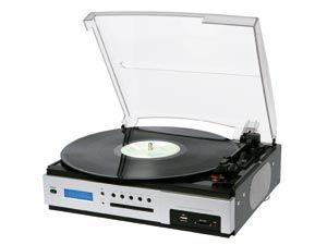 Plattenspieler mit USB und Radio - Produktbild 1