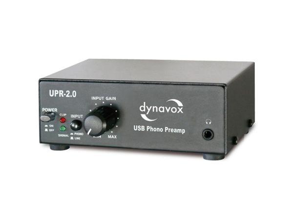 USB-Phono-Vorverstärker UPR-2.0