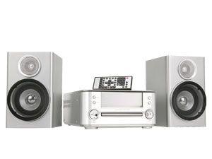 MP3-Stereoanlage MCD83, silber - Produktbild 1