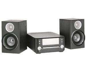 MP3-Stereoanlage MCD83, schwarz - Produktbild 1