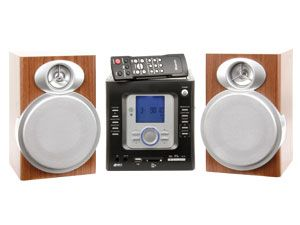 Design-Stereoanlage KH2318, silber - Produktbild 1