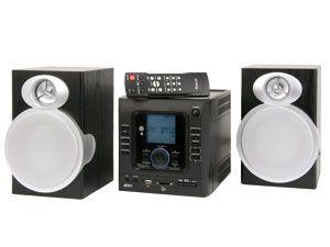 Design-Stereoanlage KH2318, schwarz - Produktbild 1
