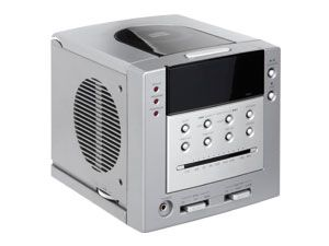 Uhrenradio mit CD-Player
