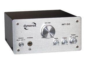 Mini-HiFi-Verstärker DYNAVOX MT-50, silber