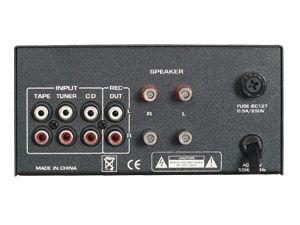 Mini-HiFi-Verstärker DYNAVOX MT-50, silber - Produktbild 3