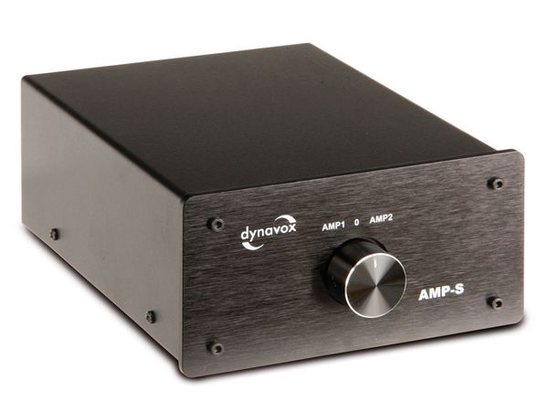 Verstärker- und Boxen-Umschalter DYNAVOX AMP-S
