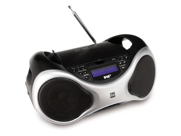 dab ukw radio dual dab p 100 mit cd player online kaufen. Black Bedroom Furniture Sets. Home Design Ideas