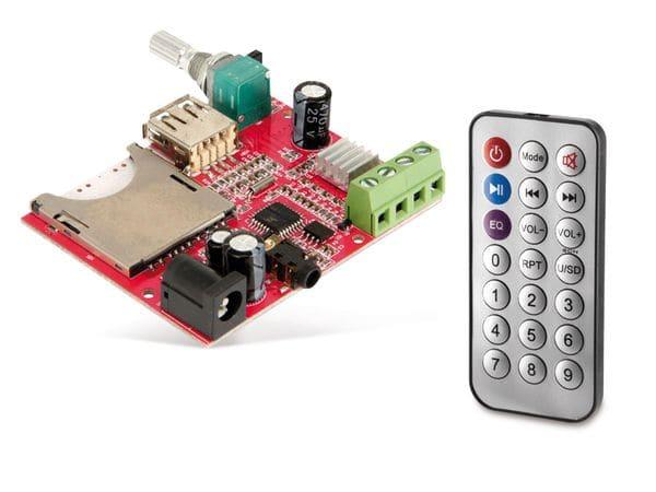 Stereo-Verstärkermodul mit MP3-Wiedergabe PVM-MP3-2x10