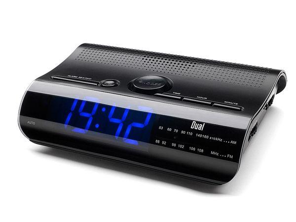 Uhrenradio DUAL CR 08, schwarz