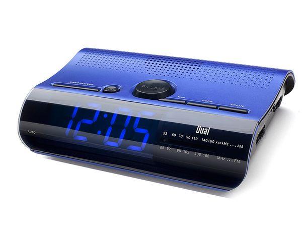 Uhrenradio DUAL CR 08, blau
