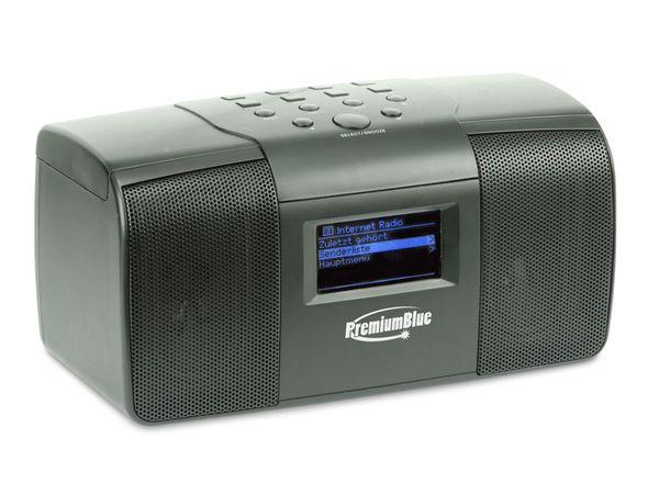 Internetradio PremiumBlue WR-220W, WLAN - Produktbild 1
