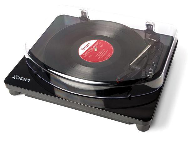 USB-Plattenspieler ION CLASSIC LP BLACK - Produktbild 1