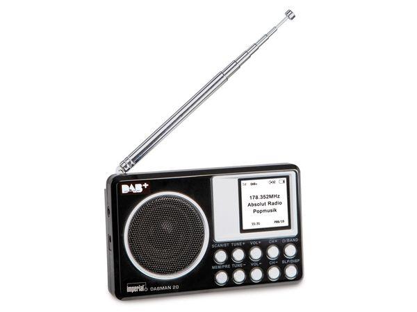 DAB+/UKW Radio IMPERIAL DABMAN 20