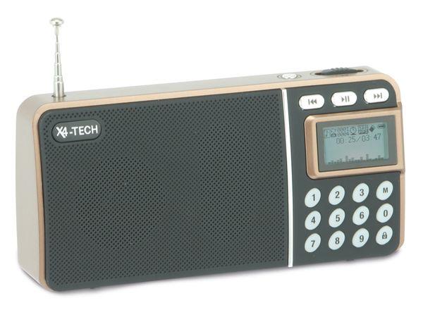 Aktiv-Lautsprecher X4-TECH MINI MULTIFUNKTIONSRADIO - Produktbild 1