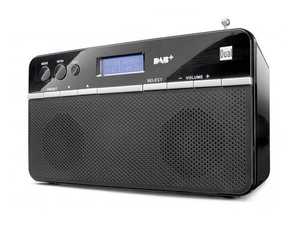 DAB+/UKW Stereo-Radio DUAL DAB18 - Produktbild 1