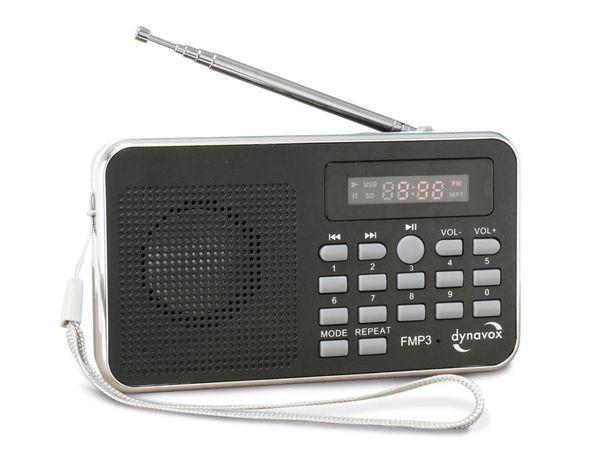 MP3-Radio mit eingebautem Akku DYNAVOX FMP3