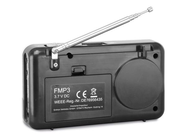 MP3-Radio mit eingebautem Akku DYNAVOX FMP3 - Produktbild 2