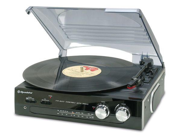 Stereo-Plattenspieler ROADSTAR TTR-8633/N