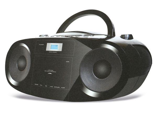Stereo-Radiorekorder, CD-Player mit MP3-Wiedergabe und AUX-In - Produktbild 1