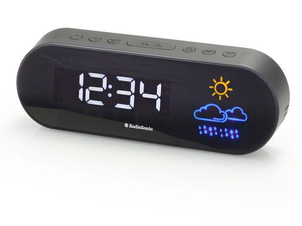 Uhrenradio CL-1489 mit Wettervorhersage