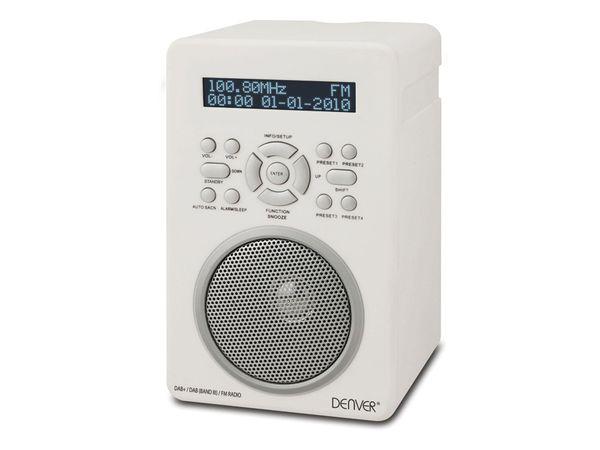 DAB+/UKW Radio DENVER DAB43 PLUS, weiß