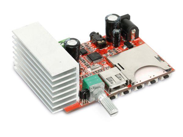 Stereo-Verstärkermodul mit MP3-Wiedergabe DAYPOWER VM-MP3-2x15 - Produktbild 1