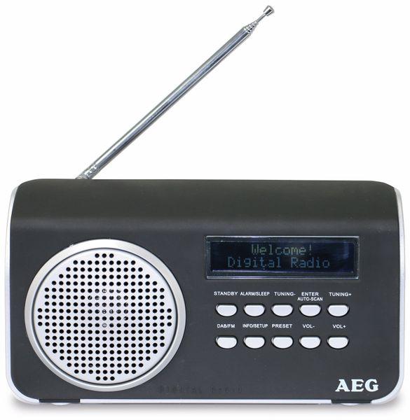 DAB+/UKW Radio AEG DAB 4130, schwarz - Produktbild 1