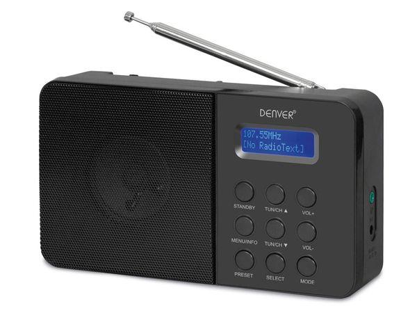 DAB+/UKW Radio DENVER DAB33, schwarz