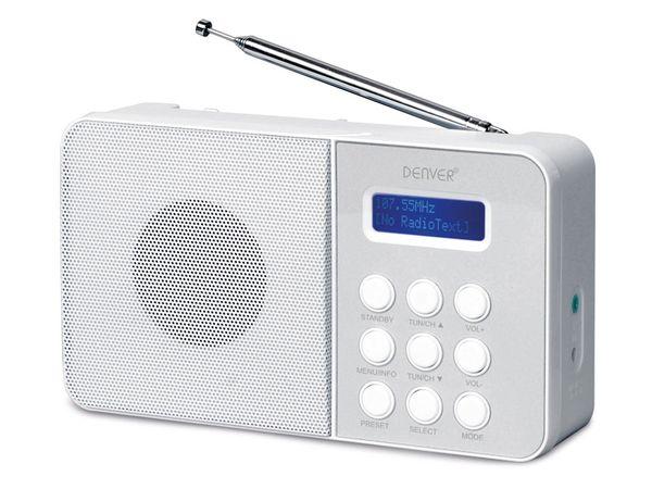 DAB+/UKW Radio DENVER DAB33, weiß